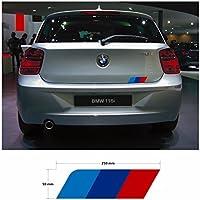 BMW 1 Series Rear Stripe - M Colours Car decal graphic F20 F21 E81 (SS20006