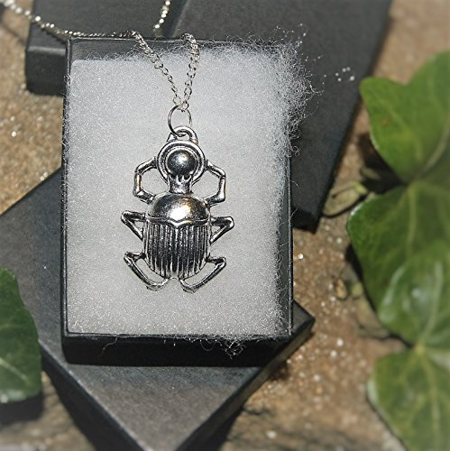 handmade-sacred-scarab-beetle-amulet-pendant-on-fine-chain-custom-length-available-gift-boxed