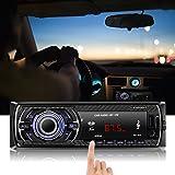 Auto Radio MP3, OCDAY Auto radio USB/ CD-Receiver mit Bluetooth Audio-Empfänger/ MP3-Player/ UKW-Radio von Kidcia Apple iPod/iPhone Control, Freisprechfunktion und integriertes Mikrofon Standard Einba - 6