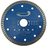 PRODIAMANT Premium Diamant-Trennscheibe Fliese 125 mm ultra dünn 22,2 blau PDX83.975