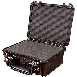 Max MAX235H105S IP67 resistente al agua nominal de tapas rígidas para fotografía equipo estanca resistente de transporte plástico/de poliuretano de/espuma/caja de transporte para iMac caja de herramientas