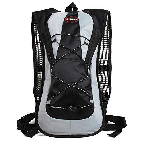 Trinkrucksack Hydrationspack mit 5L Trinkblase Fahrradrucksack für Joggen, Wandern, Radfahren, Camping und Bergsteig MEHRWEG