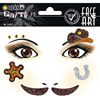 Herma 15315 Face Art Sticker Cowboy