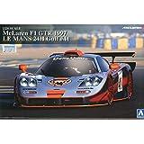 1/24 Super Car No.19 McLaren F1 GTR 1997 Le Mans 24 horas golfo # 41