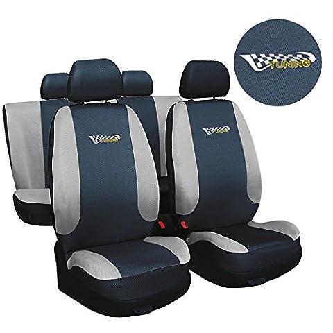 Fiat Seicento Grau TUNING Sitzbezüge Sitzbezug Schonbezüge