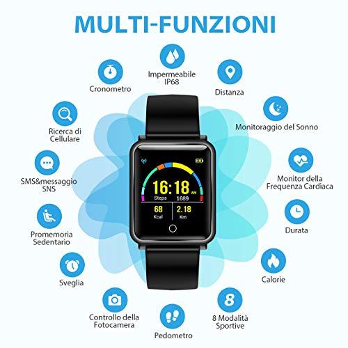 Zoom IMG-3 seneo smartwatch ip68 orologio fitness