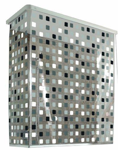 Kleine Wolke Eckduschrollo, 132 und 56 x 240 cm, grau