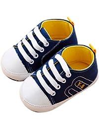 Vovotrade Primer paso Bebé recién nacido Bebita Niño Niña Cuna Zapatos Suela blanda Antideslizante Zapatillas Bandage Zapatos