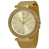 Michael Kors Women's Quartz Watch, Analog Display and Stainless Steel Strap MK3368