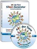 ABC der Tiere – Silben-Generator für die Grundschule (CD-ROM), Einzellizenz: Lese-Futter für Lese-Anfänger selbst erstellen
