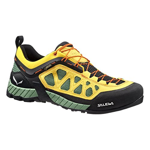 Salewa MS FIRETAIL 3 GTX, Chaussures de randonnée homme Jaune - Gelb (Highland Green/Dirt)