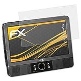atFoliX Schutzfolie für AEG DVD 4552 Displayschutzfolie - 3 x FX-Antireflex blendfreie Folie