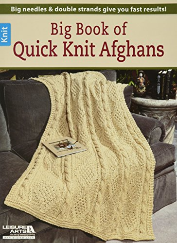 Leisure Arts Grande Libro con maglieria veloce afgano