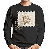 Cloud City 7 Legend of Zelda Stamp Majoras Mask Men's Sweatshirt