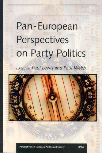 Pan-European Perspectives on Party Politics por Paul Lewis