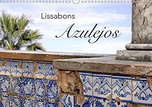 Lissabons Azulejos (Wandkalender 2020 DIN A3 quer)