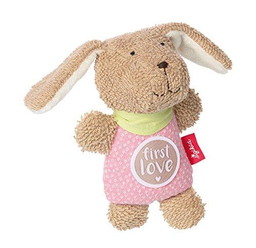 sigikid, Mädchen, Greifling Hund, Die rosa Fine, Beige/Rosa, 38787
