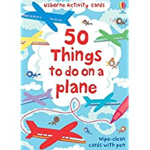 50 Things to Do on a Plane (Usborne Activity Cards) (Activity and Puzzle Cards)