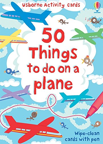 50 Things to Do on a Plane: Usborne Activity Cards (Activity and Puzzle Cards)