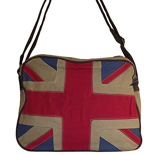 Chapeau-tendance Sac cabas Union jack London David Jones - - Mixte