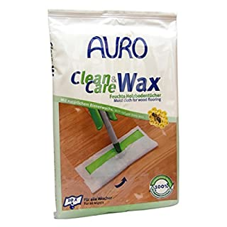 AURO Clean & Care Wax Wood Floor Wet Wipes No. 680