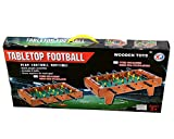 Bubble Hut Mid-Sized Foosball,Mini Football, Table Soccer Game for Kids