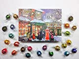 LINDT LINDOR CHOCOLATE ADVENT CALENDAR - 24 VARIETIES -...