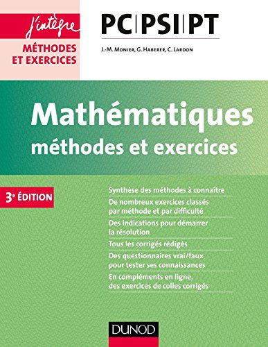 Mathmatiques Mthodes et Exercices PC-PSI-PT - 3e d.