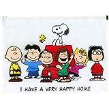 Snoopy Peanuts PNVI0678 - Estuche de tejido con cremallera para lápices, multicolor