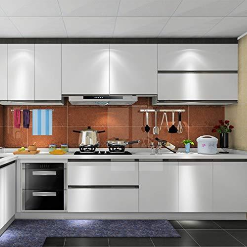 KINLO Adesivi da cucina per mobili 0.6M*5M(1 Rotolo) Grigio Nessuna ...