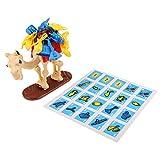 D DOLITY Kamel Packing Chips Brettspiel Familienspiel Lernspiele für Kinder und Erwachsene