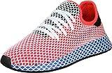adidas Herren Deerupt Runner Gymnastikschuhe, Rot (Solar Red/Solar Red/Bluebird), 36 EU