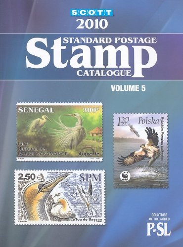 Scott 2010 Standard Postage Stamp Catalogue Vol 5 Countries Of The World P Sl