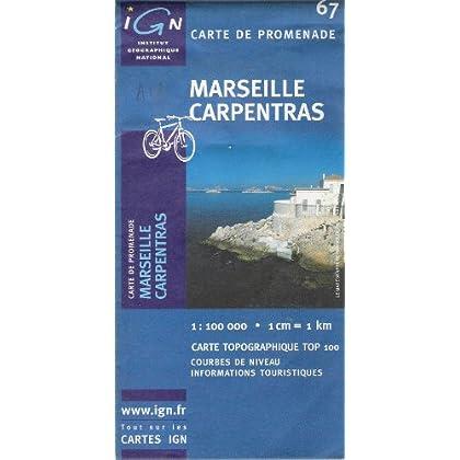 Tc67 Marseille/Carpentras  1/100.000