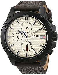 Tommy Hilfiger Herren-Armbanduhr Analog Quarz Leder 1791164