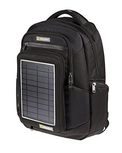 Preisvergleich Produktbild Solarrucksack SunnyBAG Explorer Schwarz mit integriertem Solarladegerät, schwarz