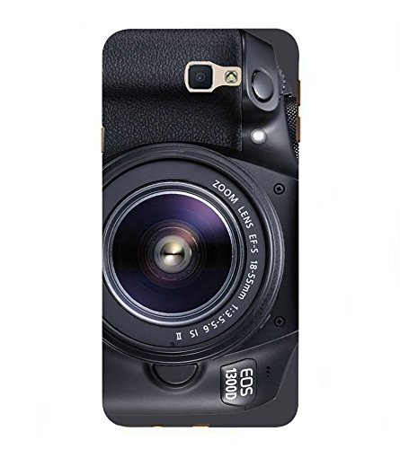 Fiobs Camera Photo Picture Pic DSLR Designer Hard Back Case Cover for Samsung Galaxy J7 Prime (2016)