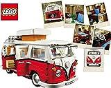 LEGO 10220 Volkswagen T1 Camper Van Camping Bulli VW Bus - LEGO
