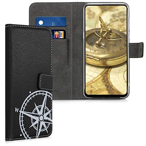 kwmobile Xiaomi Mi Mix 3 Hülle - Kunstleder Wallet Case für Xiaomi Mi Mix 3 mit Kartenfächern und Stand