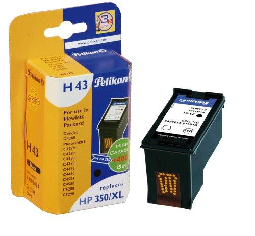 Pelikan H43 - Cartucho de impresión (sustituye a HP 350XL) - 1