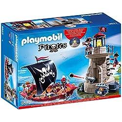 Playmobil -Barco pirata de juguete.