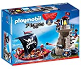 PLAYMOBIL 9522 Piratenset mit Piratenschiff und Soldatenturm