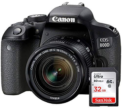 Canon EOS 800D - Fotocamera Digitale Reflex + Obiettivo EF-S...