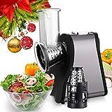 Diaped Zerkleinerer Professionelle Salad Maker Chopper mit One-Touch-Steuerung und 4 kostenlose Anlagen für Obst, Gemüse und Käse 4 C