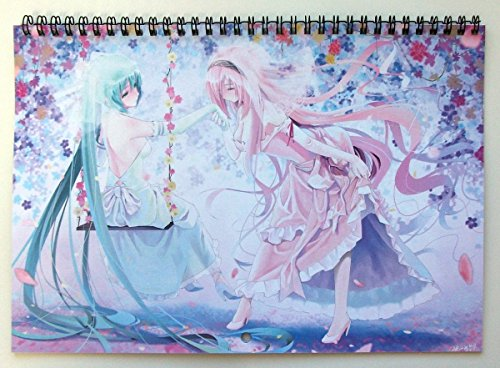 Anime Calendrier Mural 2018 (13 pages 20x30cm) Anime Kawaii Girls Manga Fantasy vol 2 [Calendar]