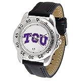 Texas Christian gehörnten Frösche Sport Herren-Armbanduhr