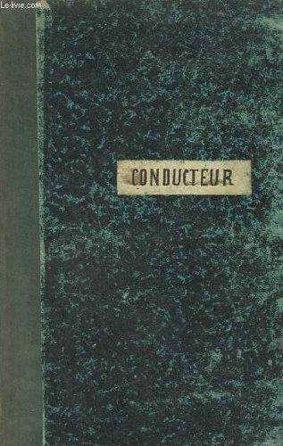 CONDUCTEUR VIOLON - 1 PARTITION MANUSCRITE + LA GR...