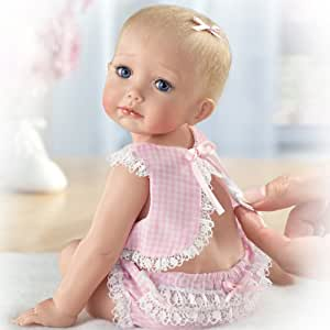 """Cindy McClure Tiny Miracles Hailey Needs A Hug Realistic Baby Doll: So Truly Real - 6.25"""" by Ashton"""