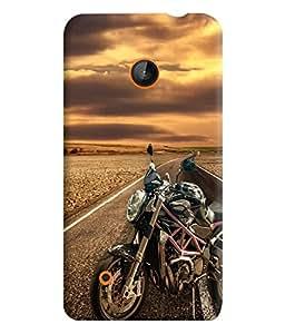 PrintVisa Sports Bike 3D Hard Polycarbonate Designer Back Case Cover for Nokia Lumia 530