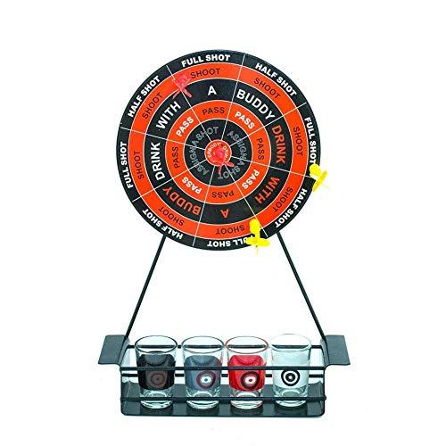 Ridecyle Dartscheibe, Dartboard, Dart, Party Game Kit, lustiges Bar-Spiel Spielzeug Set Party Geschenk Tisch Spiel gehören Desktop Golf/Dart Game Set/Spinning Spiele/Beer Pong Spiel -